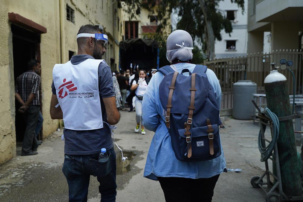MSF emergency response