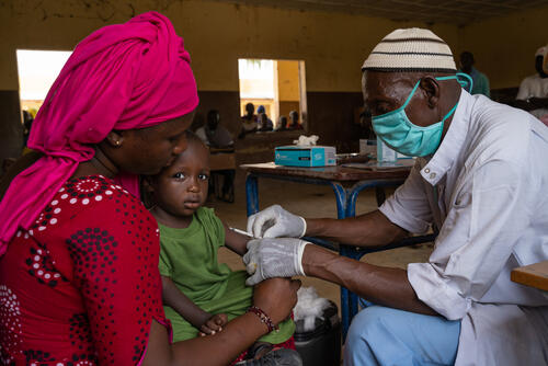 Measles Vaccination Campaign in Timbuktu