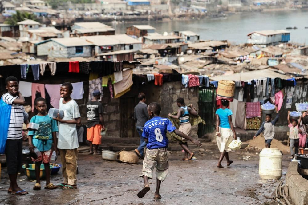 Antimalarials distribution in Sierra Leone