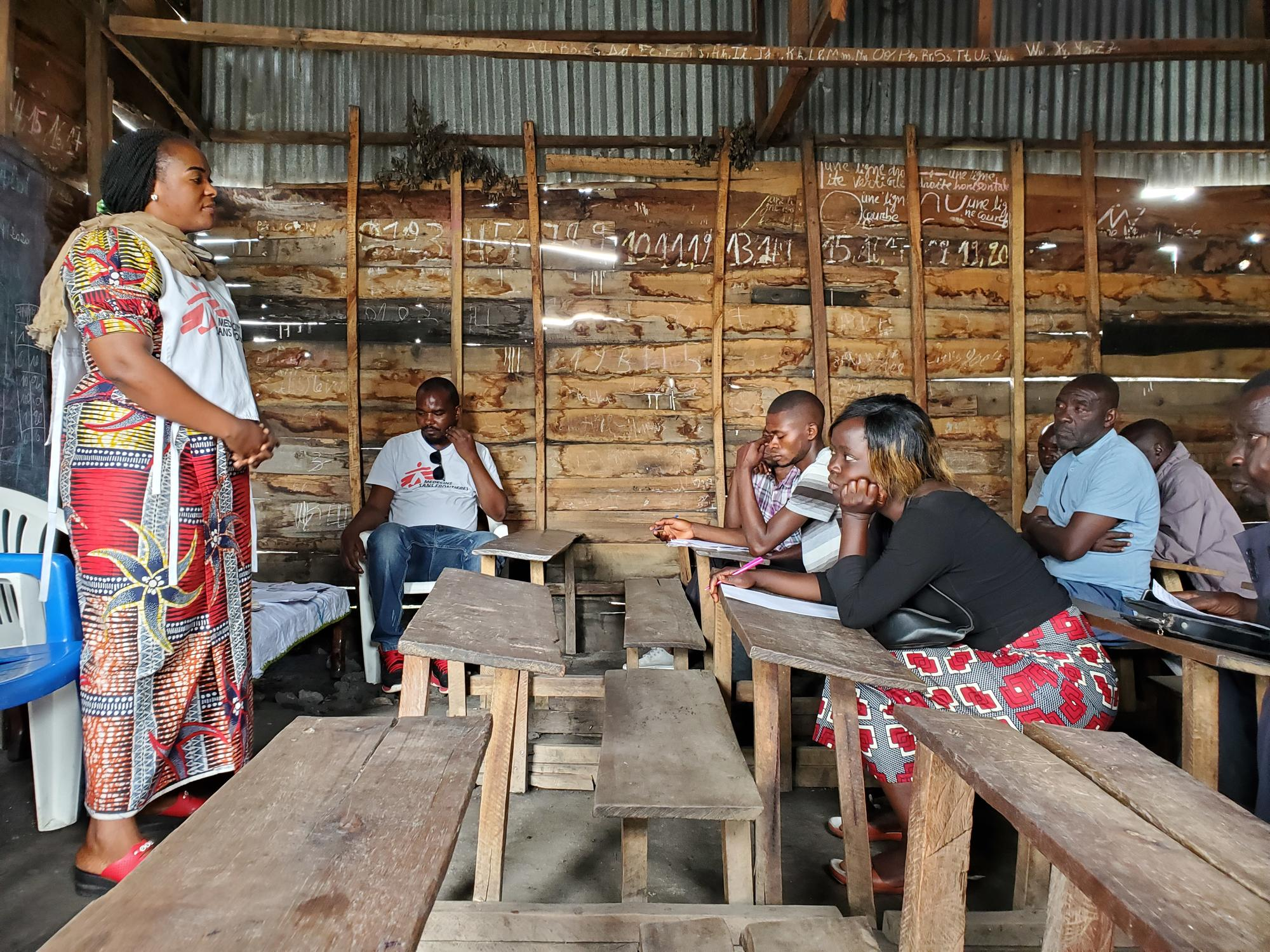 North Kivu: COVID-19 Health Promotion Training