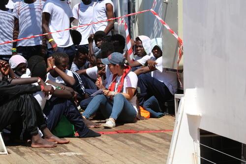 Ocean Viking third rescue - August 11