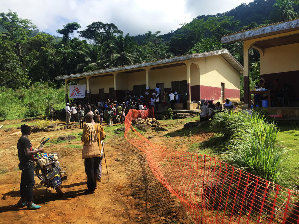 One-shot intervention in Menka, North-West Region of Cameroon