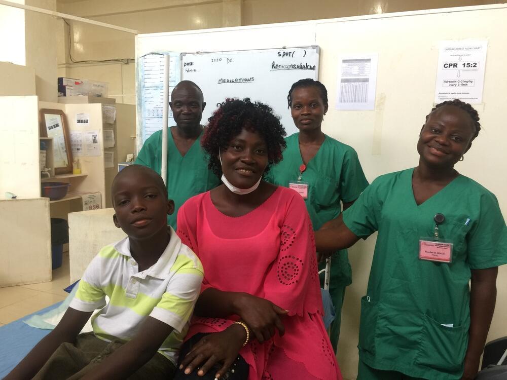 Cerebral malaria in Monrovia