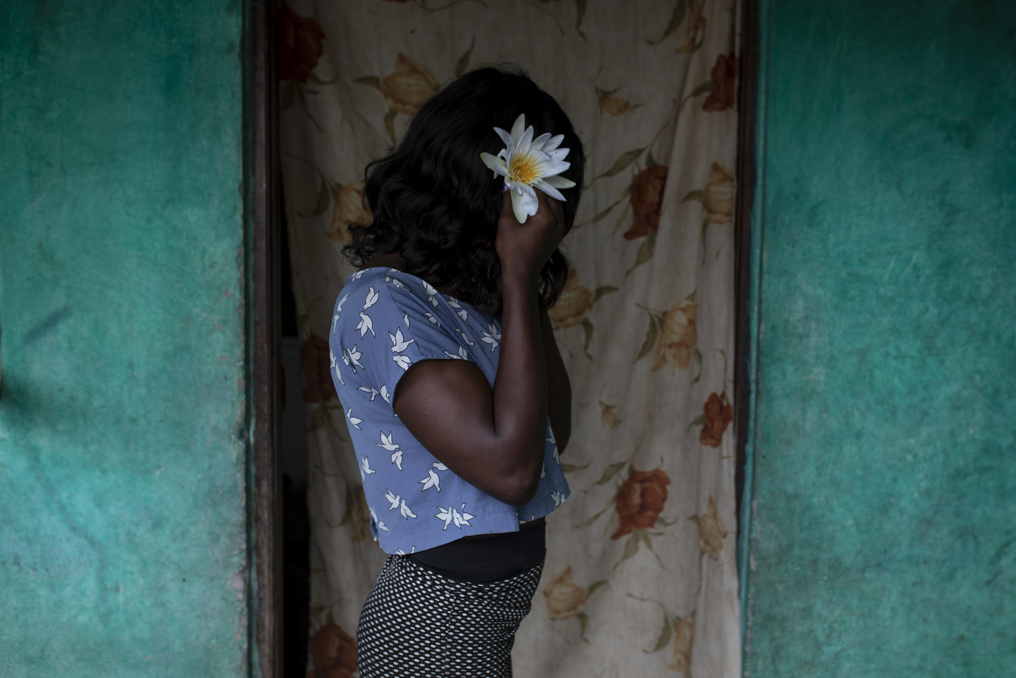 Paula [pseudonym], a sex worker and MSF HIV patient in Beira.