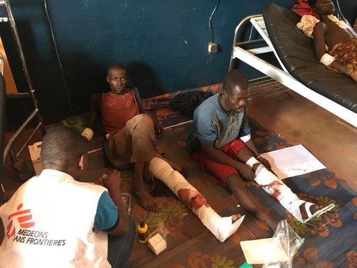 Displaced again in Bria