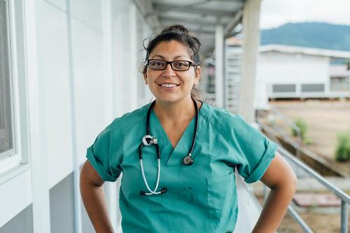 Rebecca Morante, MSF nurse