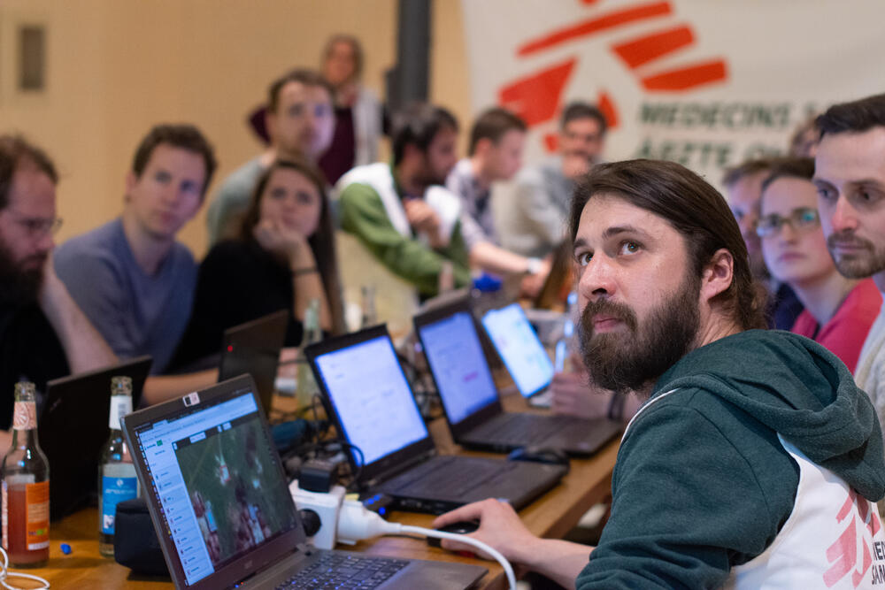 First official MSF Mapathon in Berlin