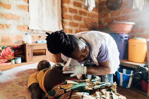 Sia Kallon, MSF midwife
