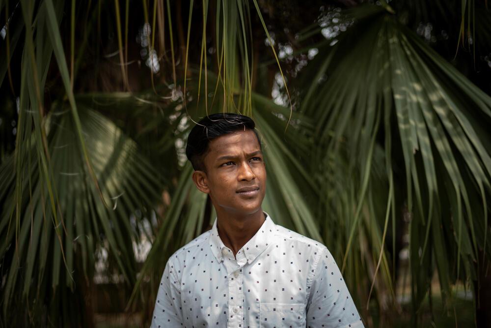 Rahid, a Rohingya refugee in Malaysia