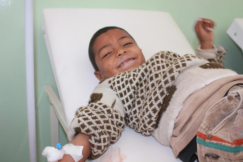 Tal Abyad National hospital: Mounir