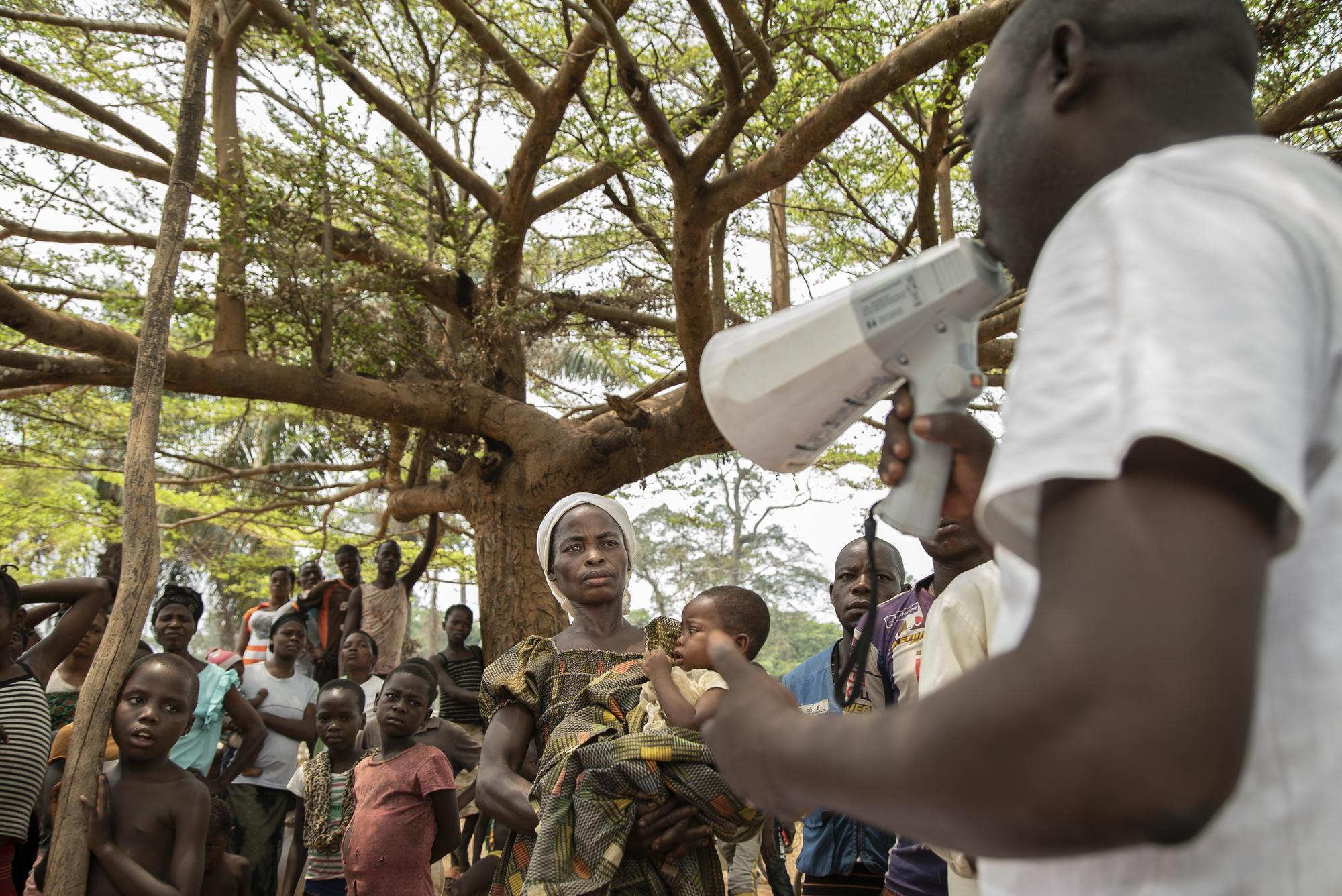 Measles intervention in Boso Manzi