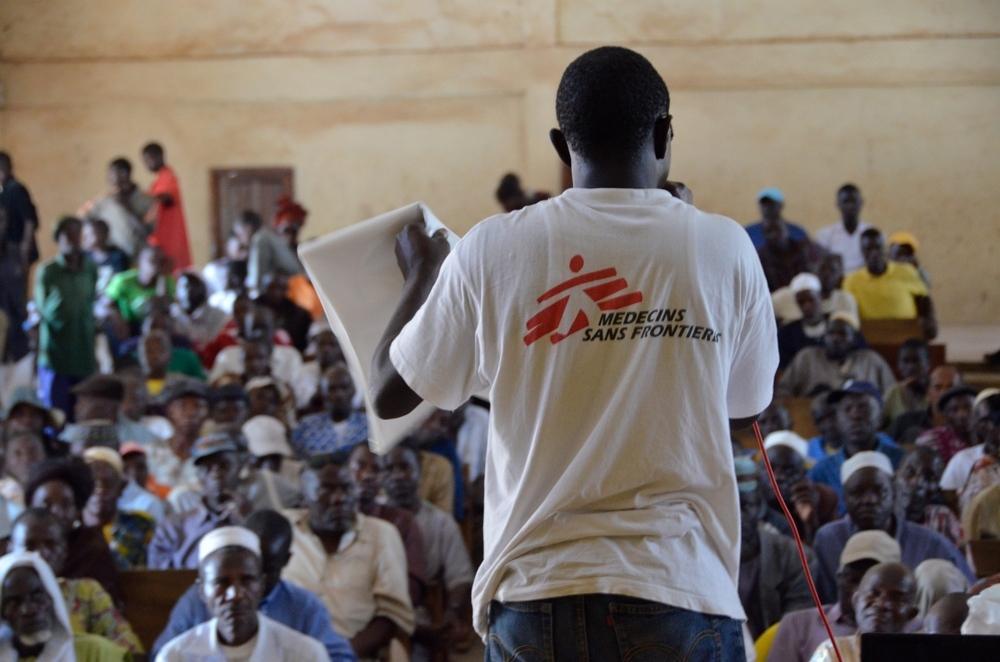Macenta, Guinea - Ebola