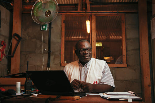 Sahr Salihu Dauda, logistics and supply manager
