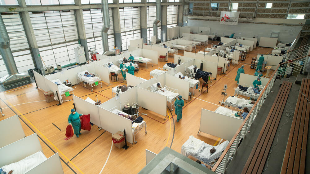 Khayelitsha Field Hospital Activity