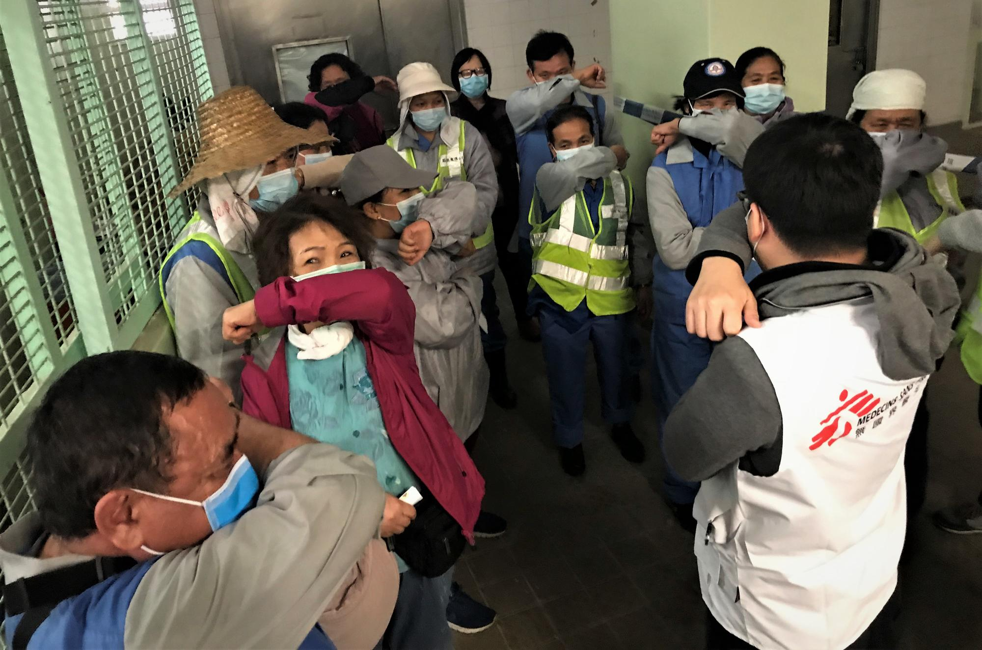 MSF has started an intervention for the outbreak of COVID-19