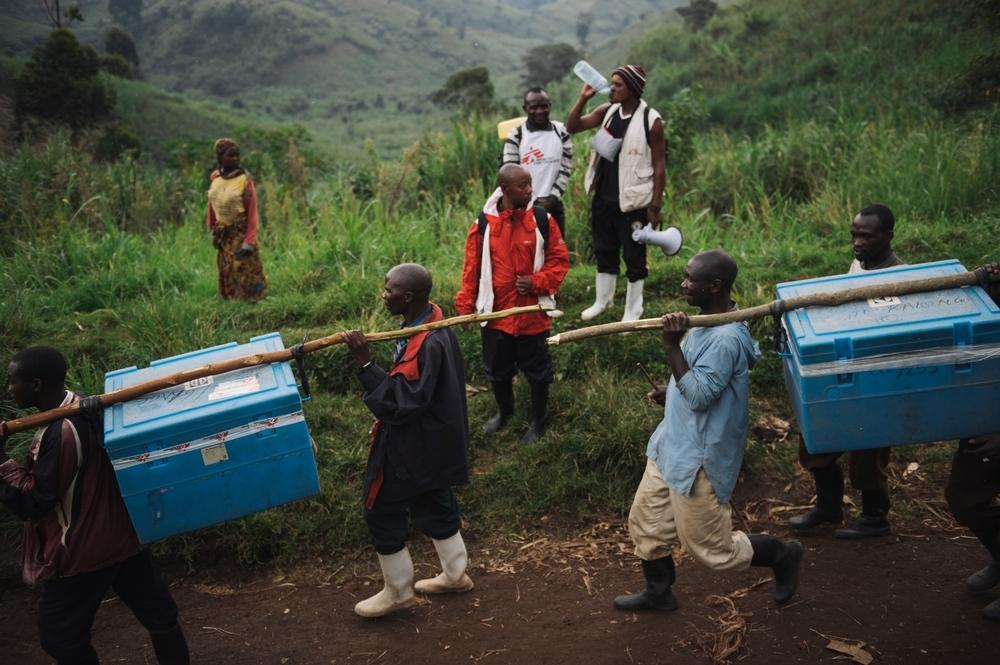 Vaccination in Masisi, Eastern DRC
