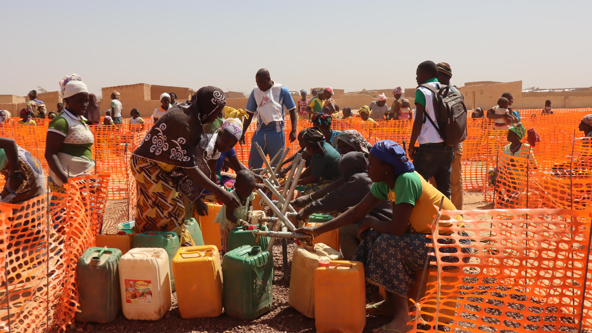 Hundreds of thousands of people have been internally displaced by violence in Burkina Faso