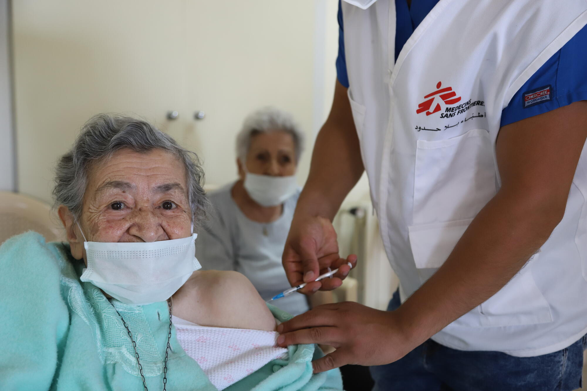 Tackling COVID-19 in Lebanon, through prevention and vaccination