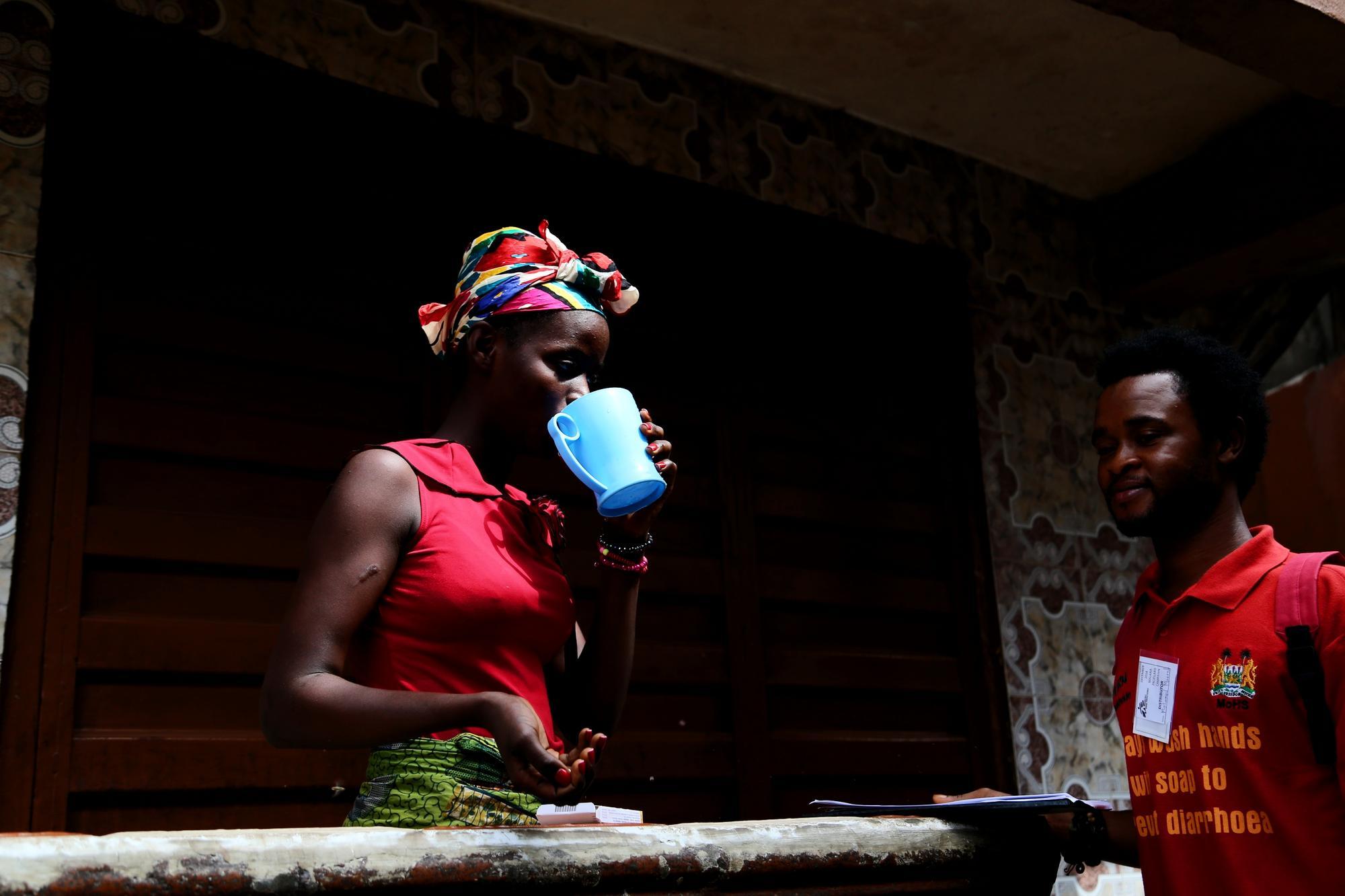 Antimalarial distribution in Sierra Leone