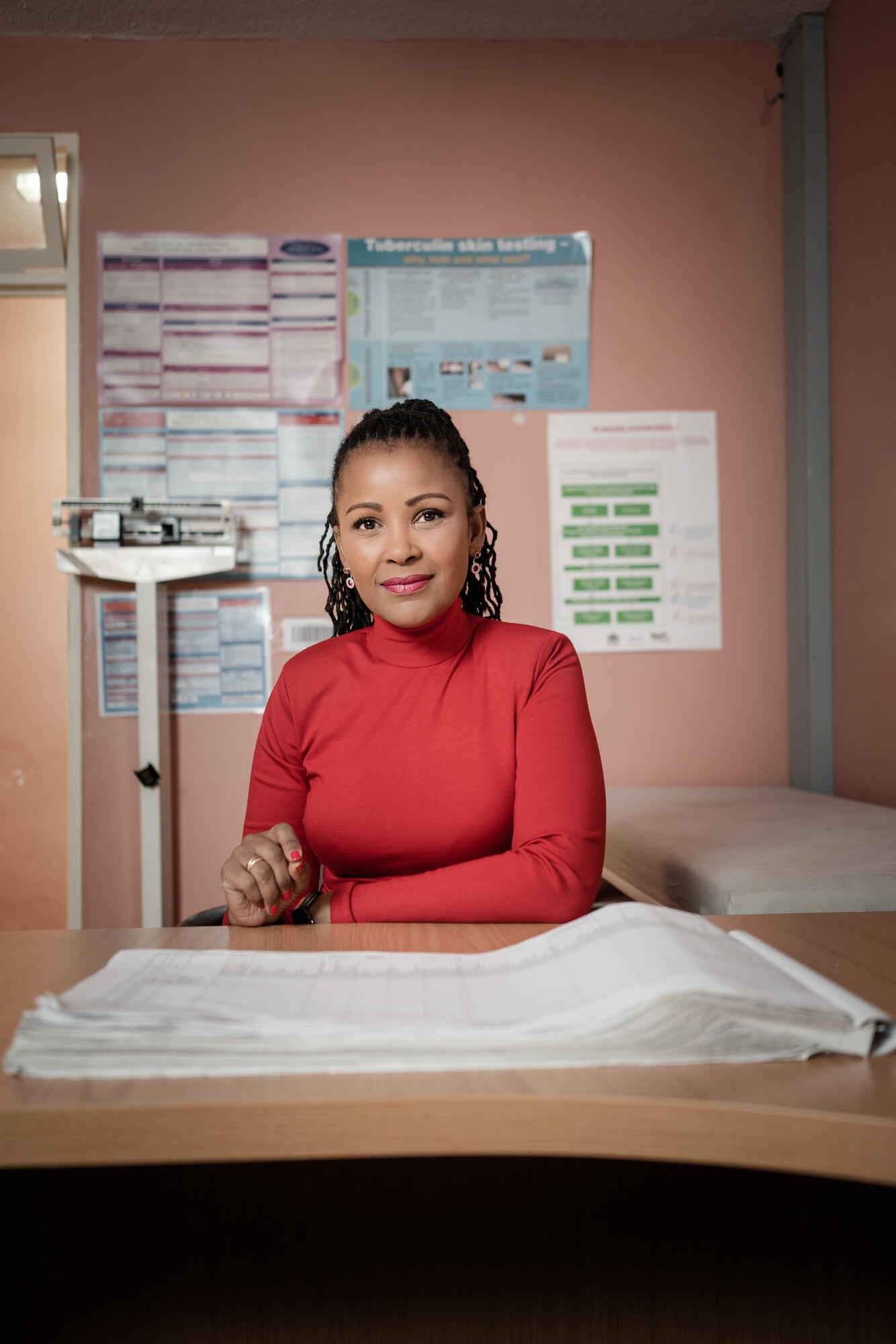 Gerry Elsdon has been raising awareness around TB since being diagnosed in 2002.
