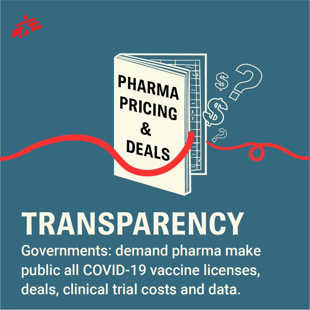 Governments must demand transparency from pharma