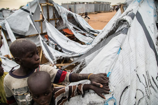 Shelter situation in Pulka, Nigeria