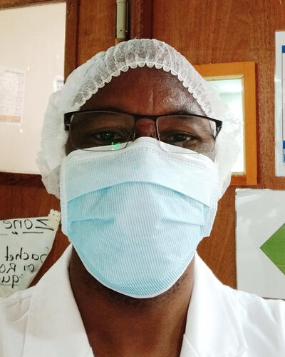 Dr Boubacar Koroney - Medical team leader, Bobo Dioulasso, Burkina Faso