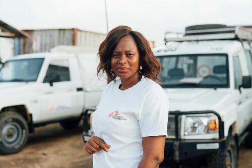 Hannah Samba, MSF outreach nurse