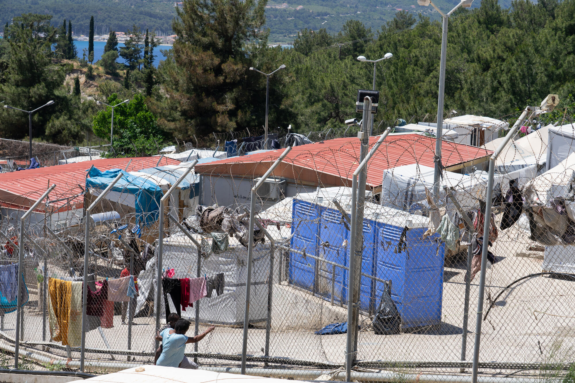 1. Take a stand against European containment policies on the Greek islands