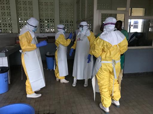 Ebola outbreak Mbandaka