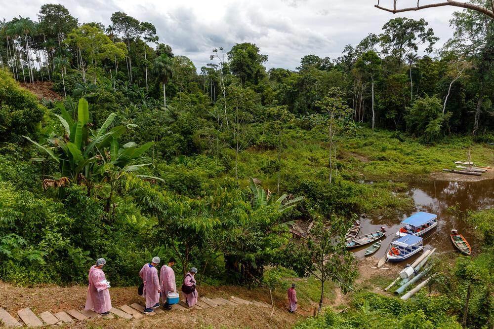 Covid-19 in Amazon region