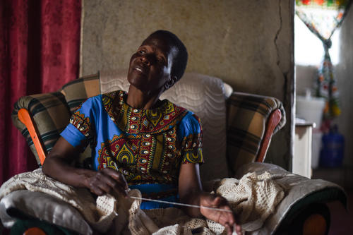 Mary Story - First DRTB Patient in Zimbabwe