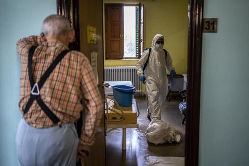 Disinfected – El Royo, Spain, 14 April 2020