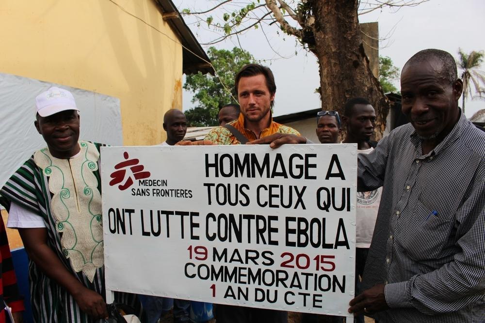 Ebola Anniversary Guéckédou (Guinea) March 2015