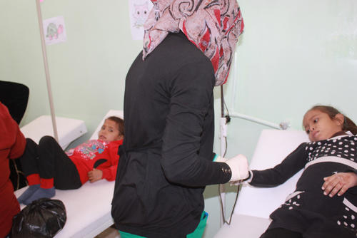 Tal Abyad hospital: Noora