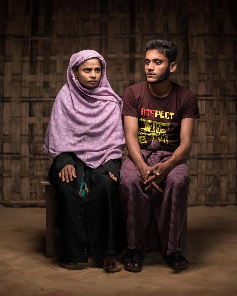 Mental Health: Rohingya Trauma and Resilience - Sofura and Malek Story