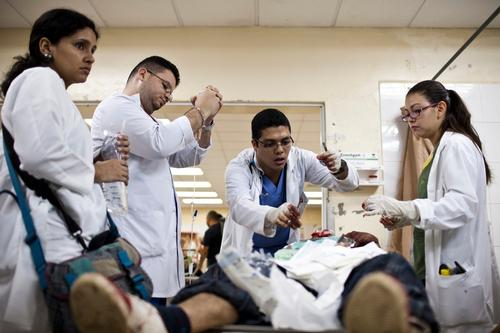 Honduras - Support to the ER department of Escuela Hospital in Tegucigalpa