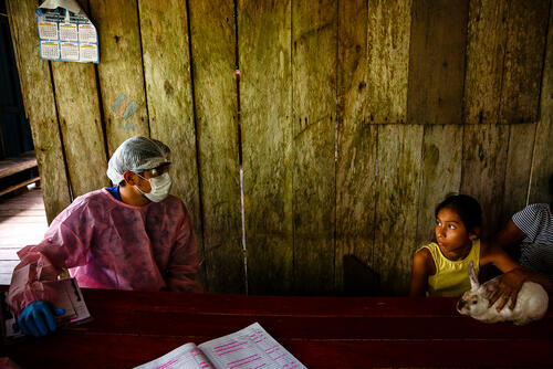 Going house-to-house – Amazonas State, Brazil, 8 July 2020