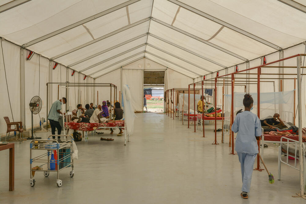 Hepatitis E cases in Umm Rakouba, Sudan
