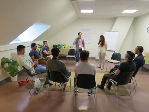 Psychosocial group session, Schweinfurt