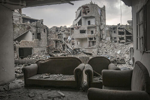Abandoned – Idlib, Syria, 19 February 2020