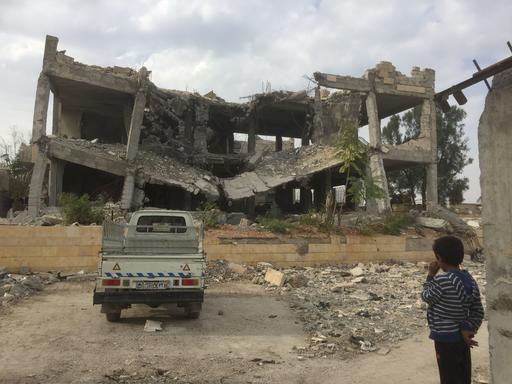 Snapshots from Tabqa