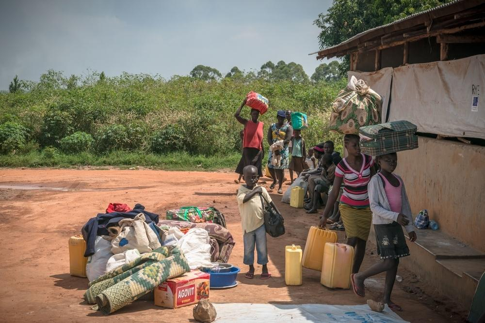 South Sudanese refugees in Northern Uganda