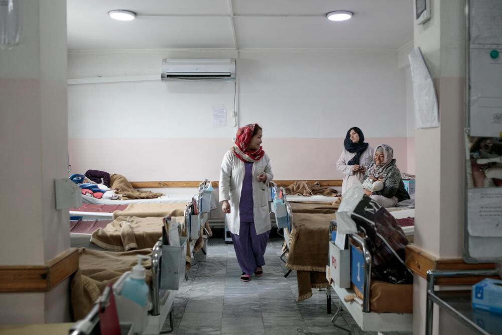 Dasht-e-Barchi maternity, West Kabul
