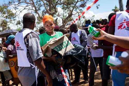 MSF response in Buzi - April 2019