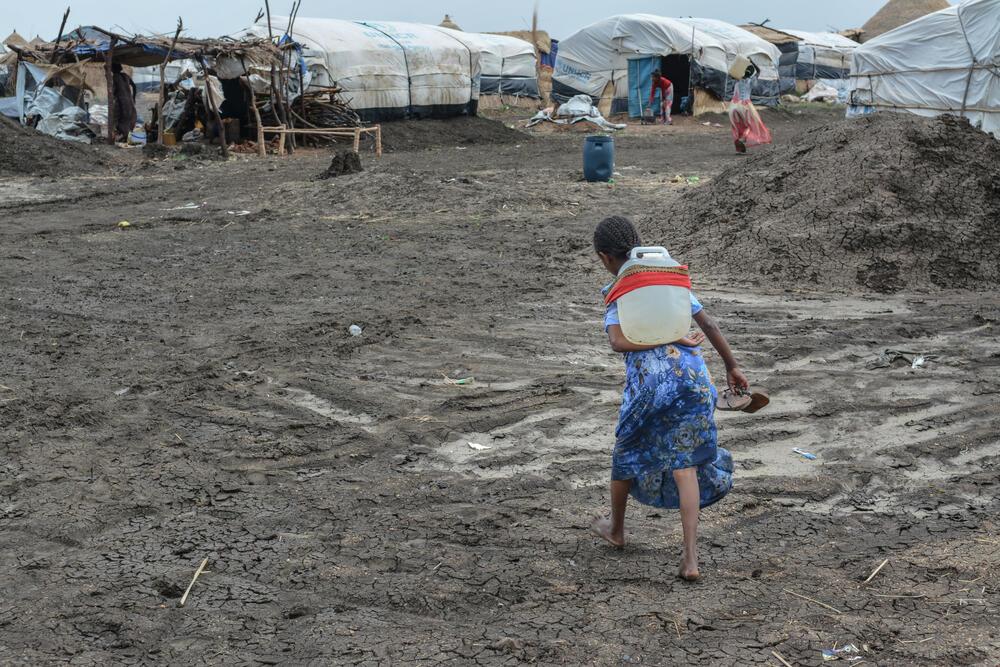Al-Tanideba refugee camp, Sudan