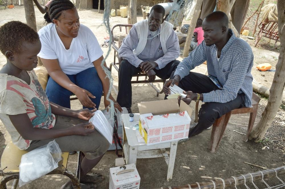 Home insulin programme - Abyei - South Soudan