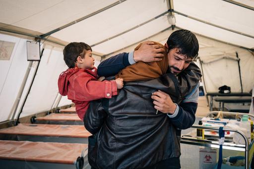 MSF Field Trauma Clinic, South of Mosul, Iraq