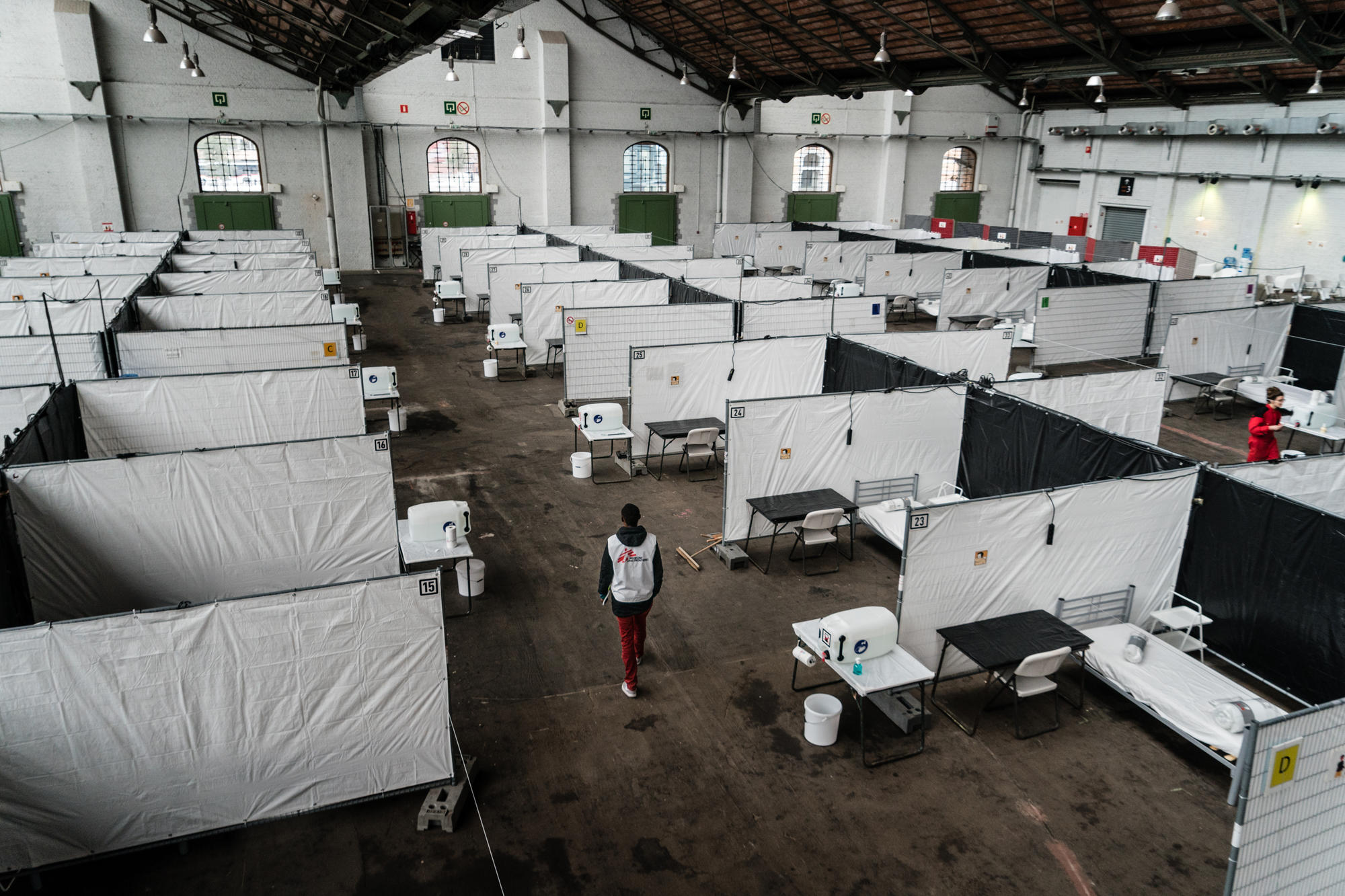 COVID-19: MSF launches its largest ever response in Belgium