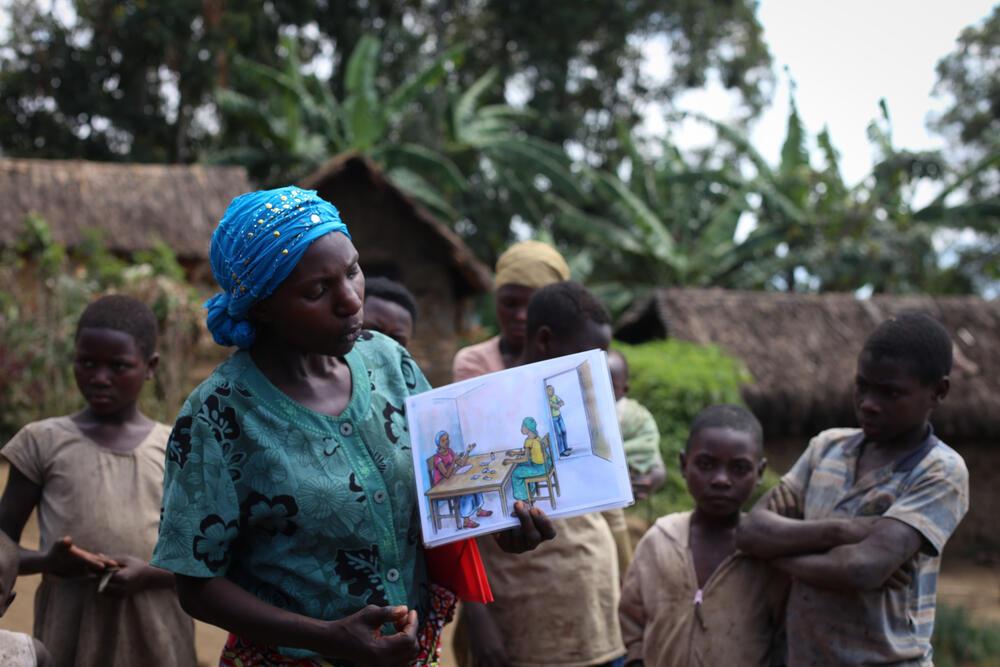 MSF activities in Masisi